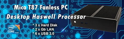 Desktop Fanless Mini PC