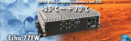 Echo 77FW Wide Temperature Mini PC computer