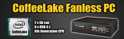 CoffeeLake Fanless PC