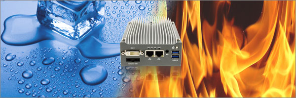 Numi 210F BayTrail 2xLAN / 4xCOM Ports Low Power Mini PC