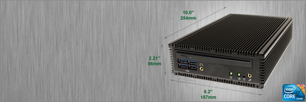 SP675FP Fanless Mini PC